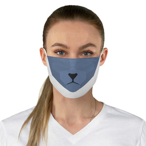 Russian Blue Fabric Face Mask