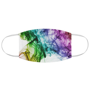 Rainbow Swirl Fabric Face Mask