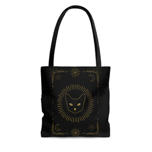 Lunar Familiar AOP Tote Bag
