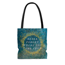Load image into Gallery viewer, Never Forget Where You Came From AOP Tote Bag