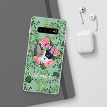 Load image into Gallery viewer, Wild and Free Calico Green Flexi Case