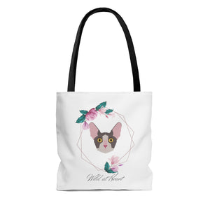 Wild at Heart Sphinx AOP Tote Bag