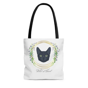 Wild at Heart Korat Kat AOP Tote Bag