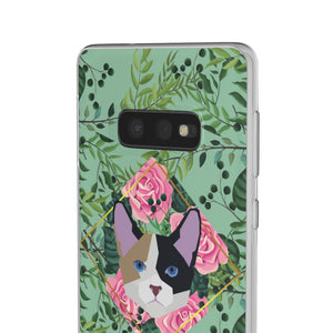 Wild and Free Calico Green Flexi Case