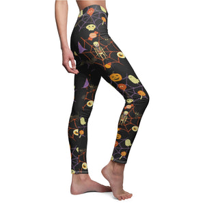 Halloween Women's Cut & Sew Casual Leggings