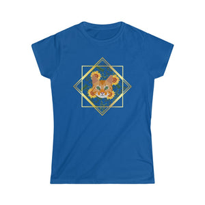 Special Edition Ginger Tabby Women's Softstyle Tee