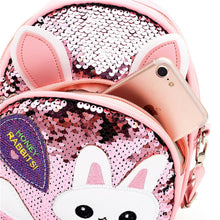 Load image into Gallery viewer, Mini Cat Sequin Backpack