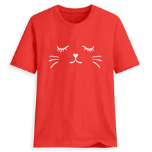 Load image into Gallery viewer, Cat Face T-Shirt