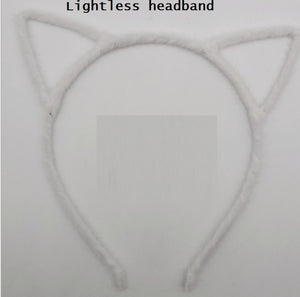 1 Piece LED Cat and Fox Ear Headbands