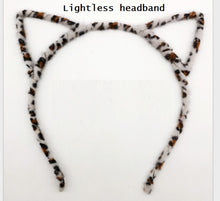 Load image into Gallery viewer, 1 Piece LED Cat and Fox Ear Headbands