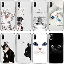 Load image into Gallery viewer, Gorgeous Transparent Cat iPhone Cases