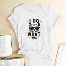Load image into Gallery viewer, I Do What I Want Cat T-Shirt