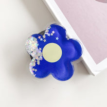 Load image into Gallery viewer, Cat Paw Liquid Glitter Phone Socket Brake
