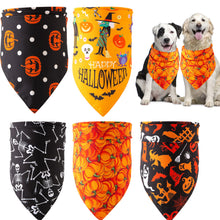 Load image into Gallery viewer, Halloween Pet Bandana