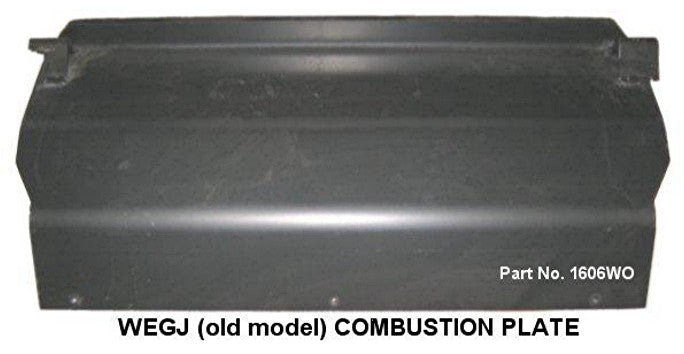 Combustion Plate to suit old style Wegj