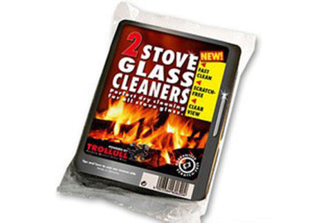 Wood Heater Glass Cleaning Pads