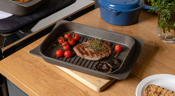 ESSE Cast Iron Casserole dish with griddle lid