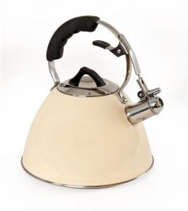 3ltr Cream Whistling Kettle