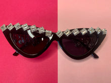 Load image into Gallery viewer, Cat Eye Diamond Sunglasses
