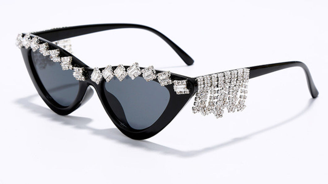 Cat Eye Diamond Sunglasses