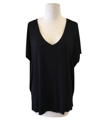 LEISURE V NECK TOP (more colors)