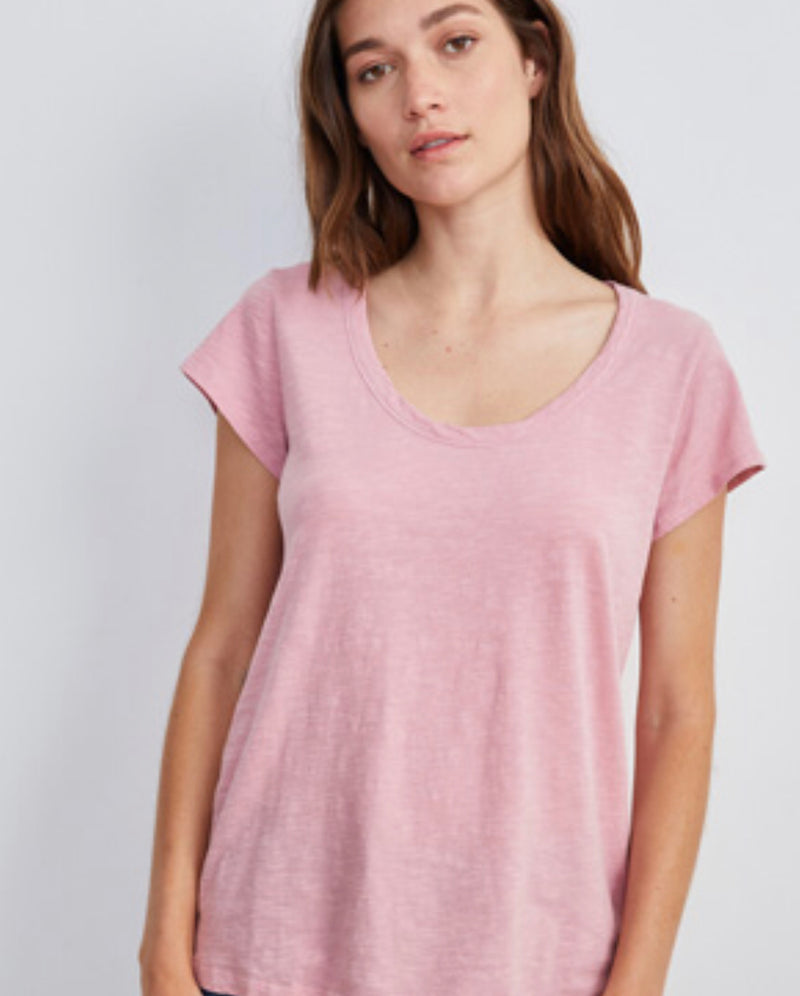 SCOOP NECK T-SHIRT (more colors)
