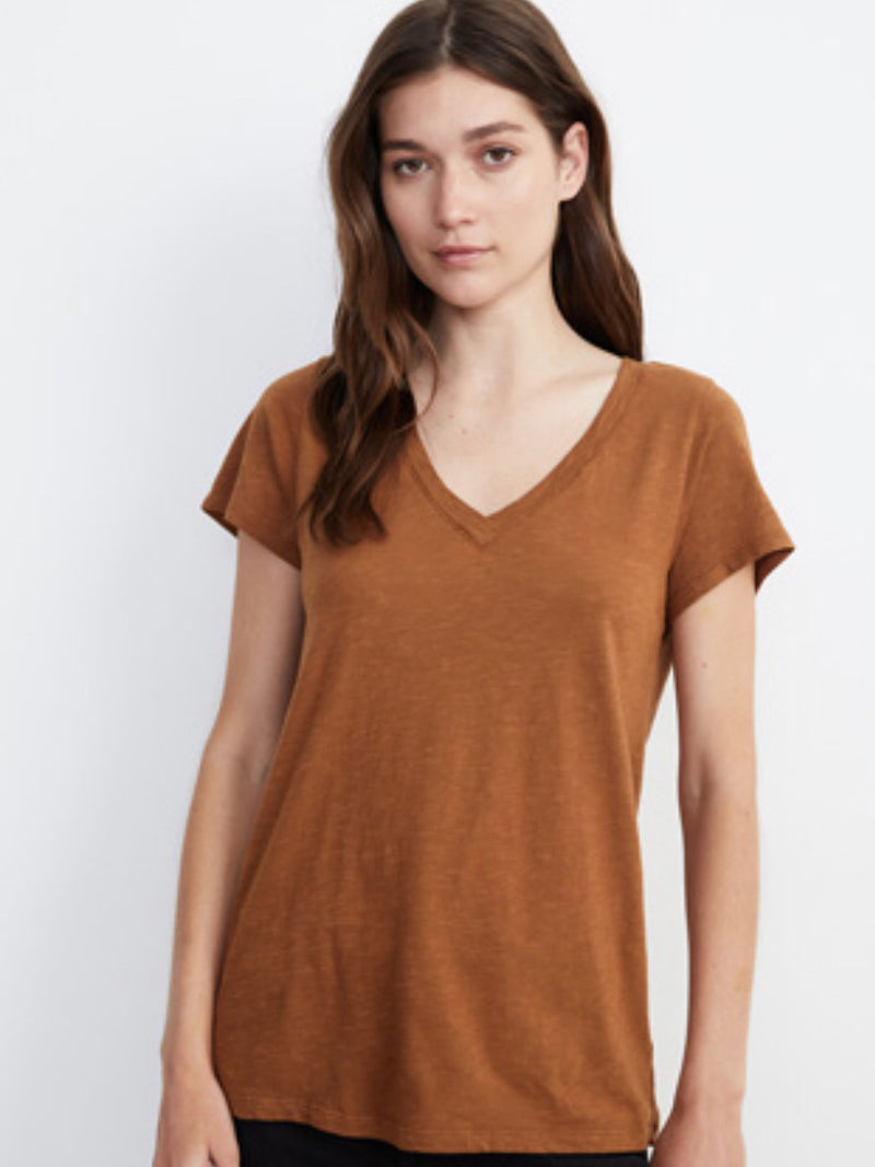 V NECK T-SHIRT (more colors)
