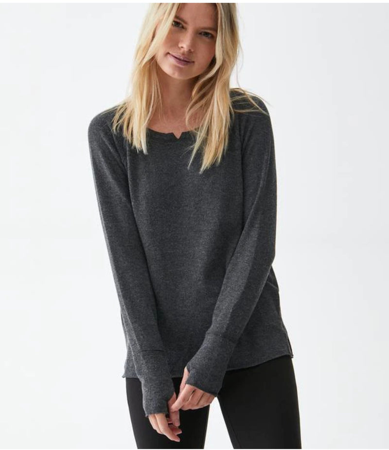 NOTCH NECK SWEATER (more colors)