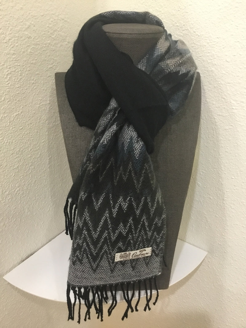 100% CASHMERE SCARVES (more prints)