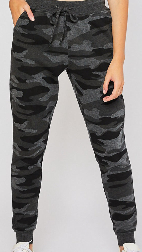 CAMO JOGGERS (only 1 left!)