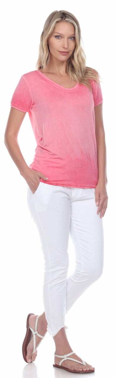 V NECK TEE (more colors)