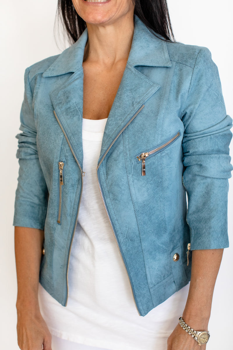 ZIP DETAIL JACKET