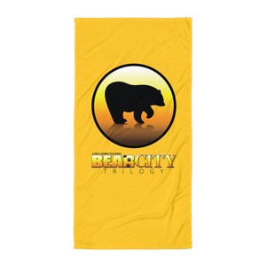 Bear City Beach Towel - Yellow