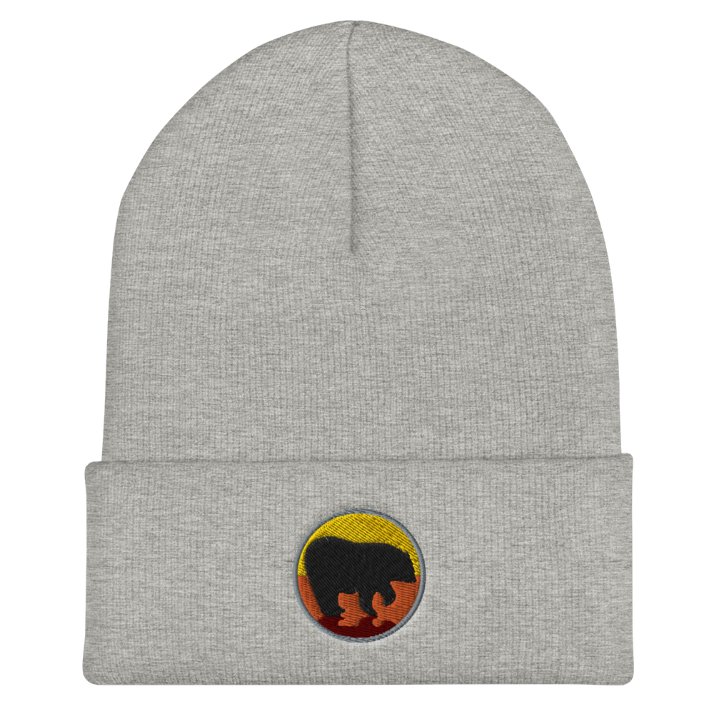 Bear City Cuffed Beanie