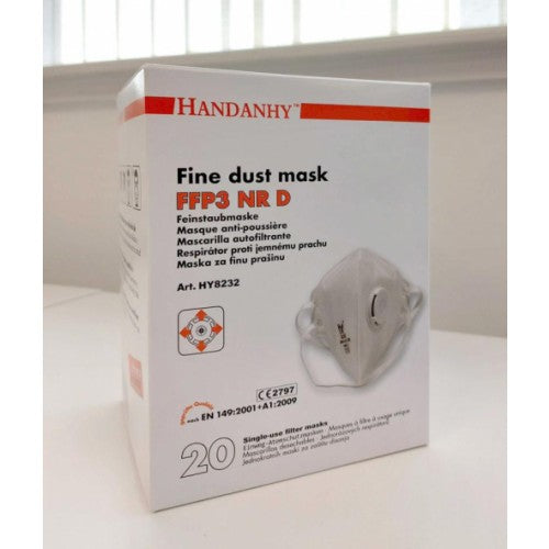 HY8232 FFP3 Respirator NR Valved (Box of 10)