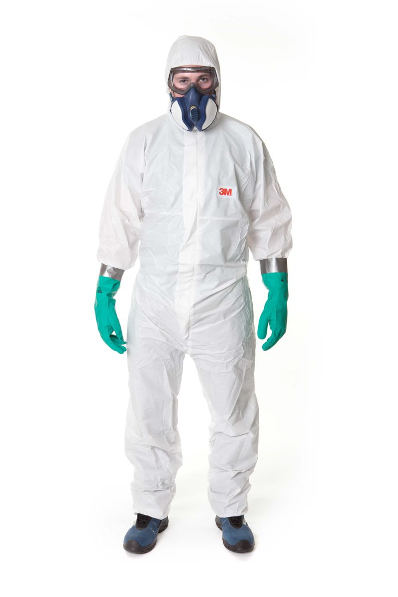 3M 4545 COVERALL WHITE TYPE-5/6 -XLarge