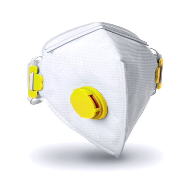 Respair P2V Fold Flat Valved Respirator FFP2 (Pack of 10)