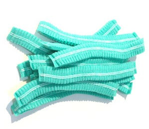 Disposable Double Elastic Mob Cap Pack of 100