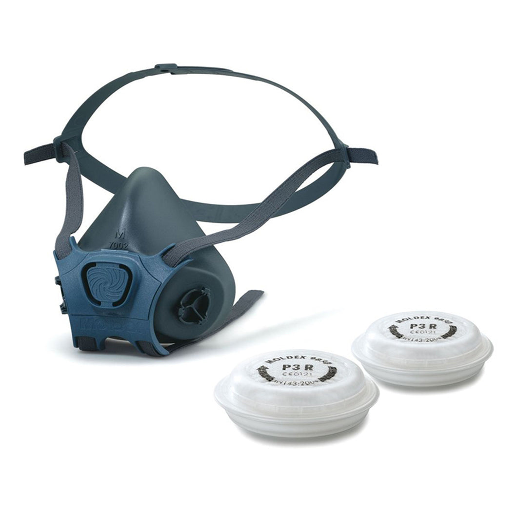 Moldex 7000 Series Reusable Half Mask Respirator with Two P3 Filters
