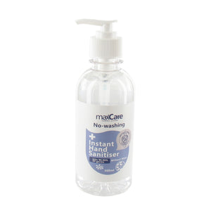 Max Care Instant Hand Sanitiser Gel with Pump - 300ml
