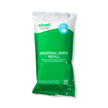 Load image into Gallery viewer, Clinell Universal Wipes Tub Refill-100 Wipes