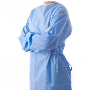 Surgical Gowns – Non Sterile Disposable - Pack of 100