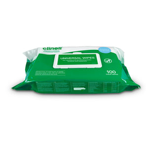 Clinell Universal Wipes - Pack of 100