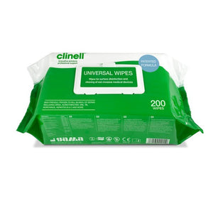 Clinell Universal Wipes - Pack of 200