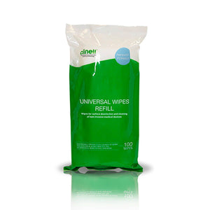 Clinell Universal Wipes Tub Refill-100 Wipes