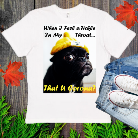 That U Corona?  Men's And Unisex Fitted T-shirt