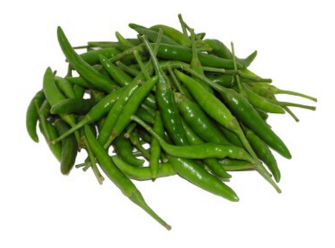 Hari Mirchi / Green Chillies / हरी मिर्च (200g)