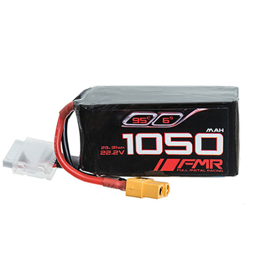 FMR 1050mAh 6s 95c Lipo Battery Pack