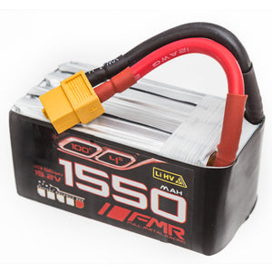FMR 1550mAh 4s 100c Lipo Battery Pack W/ Balance Bus