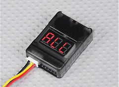 2S-8S Battery Cell Checker with Low Voltage Alarm Lipo/Life/Li-on - Next FPV - 1